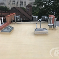 14 brownstone roof replacement NYC