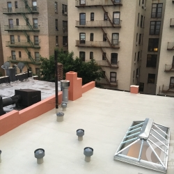 16 Brownstone roof renovation