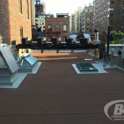22 Brownstone roof replacement Manhattan
