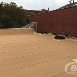 23 Brownstone roof renovation