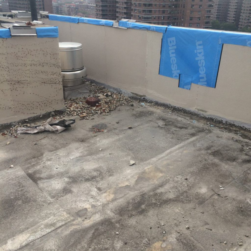 B p consulting flat roof nyc roofing brooklyn terrace for Terrace waterproofing