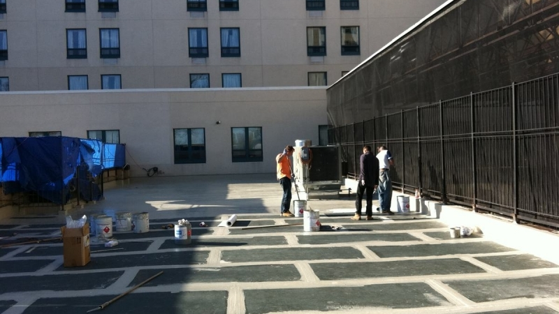 B Amp P Consulting Flat Roof Nyc Roofing Brooklyn Terrace